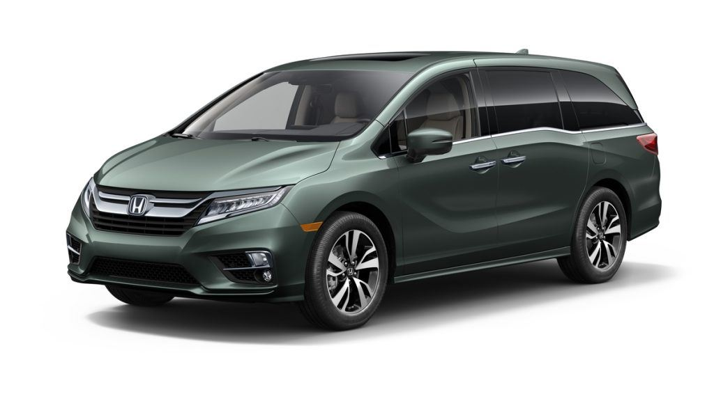 View of the 2018 Honda Odyssey