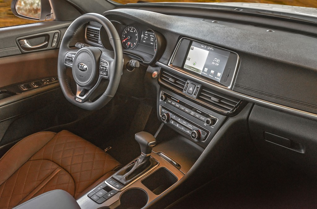 Kia Optima SX 2.0 turbo