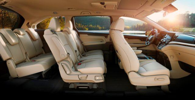 Reconfigurable leather seating will make a huge splash if Honda markets its design properly