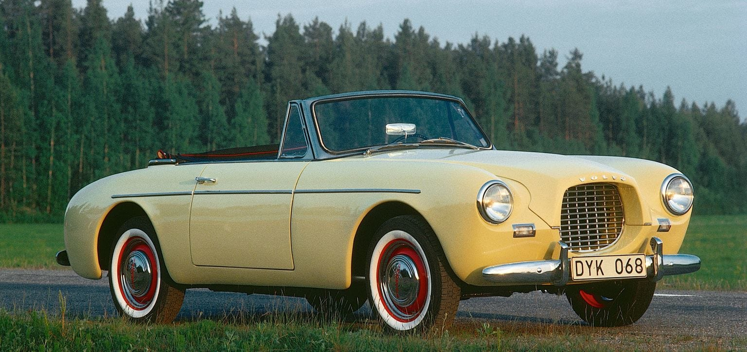 1956 Volvo Sport P1900