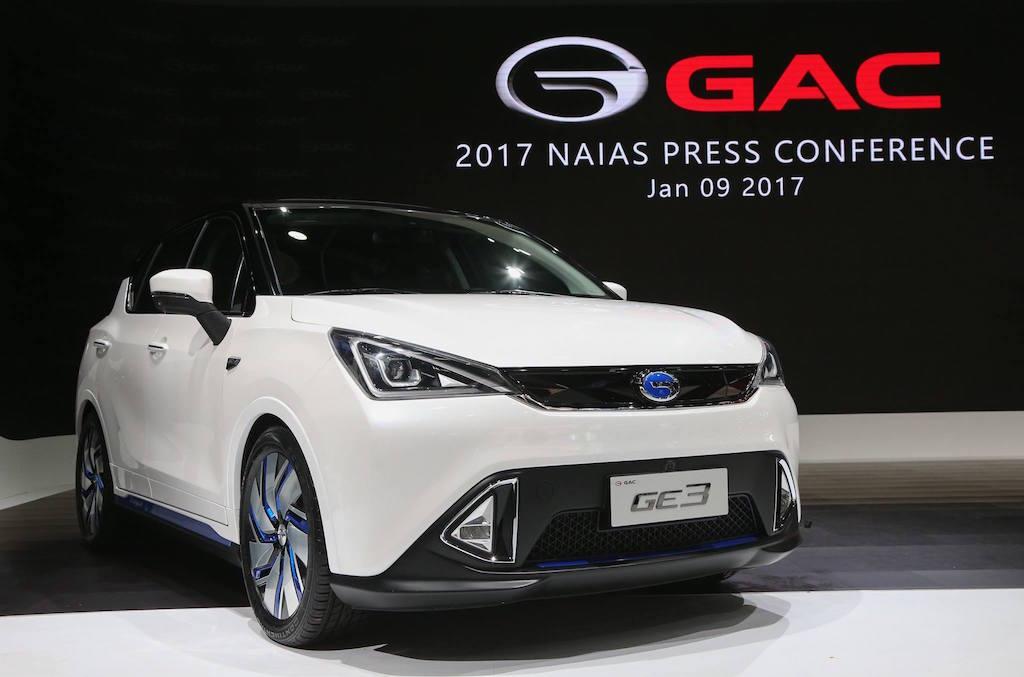 GAC GE3 | GAC Motor via Facebook