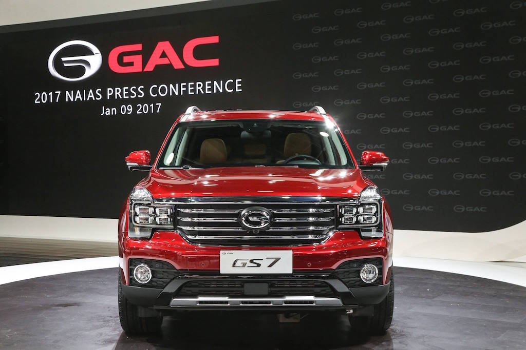GAC GS7 | GAC Motor via Facebook