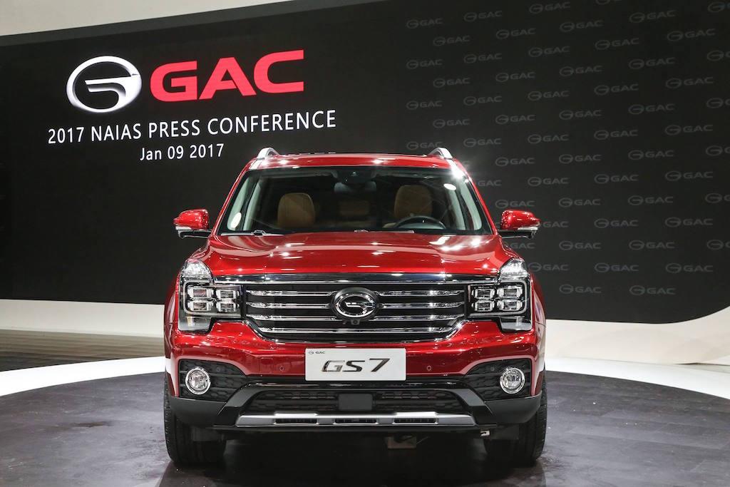 GAC GS7   GAC Motor via Facebook