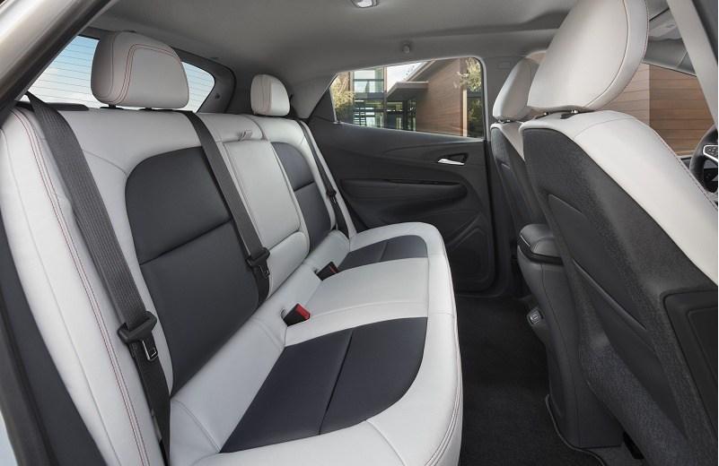 The interior of the 2017 Chevrolet Bolt EV