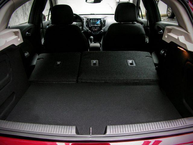 Once the rear seat has been folded, cargo volume jumps to 47.2 cubic feet of space