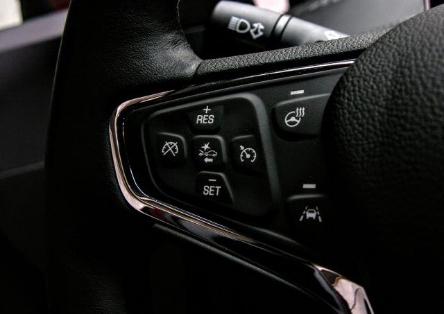 The Chevy Cruze can be outfitted with an impressive suite of safety features