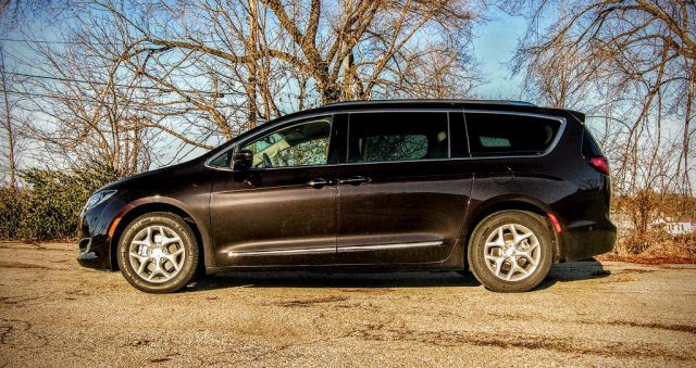 The Pacifica may still look like a minivan, but at least it's a sharp-looking minivan