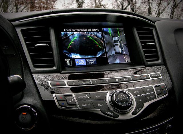 Nissan/Infiniti has gone to great lengths to be the premier Japanese specialists in 360-degree camera views