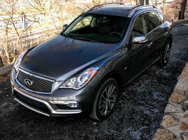 Built in Los Angeles, the QX50 lives life somewhere between CUV culture and the station wagon world