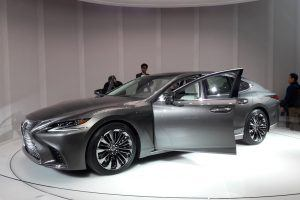 No More Boring Cars: Lexus Goes Bold With the LS500 Luxury Sedan