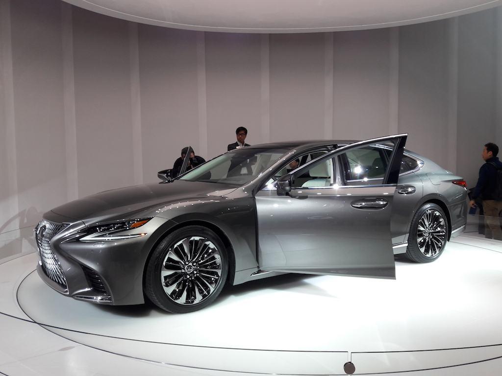 No More Boring Cars: Lexus Goes Bold With the LS500 Luxury Sedan