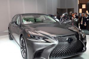 Lexus Inadvertently Confirms Electrified LS