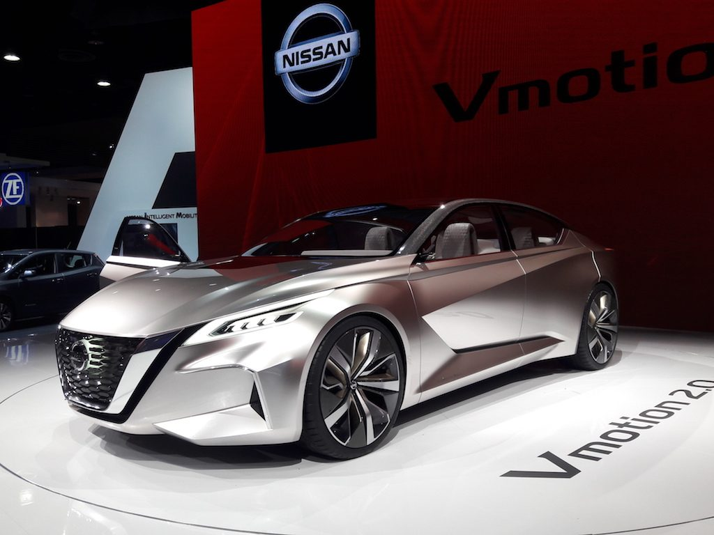 2018 Nissan Vmotion 2.0