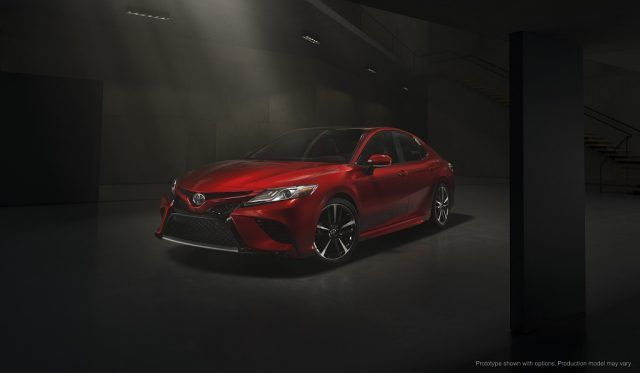 The 2018 Toyota Camry XSE offers more performance and technology than ever before, and looks more like a Lexus than ever before | Toyota