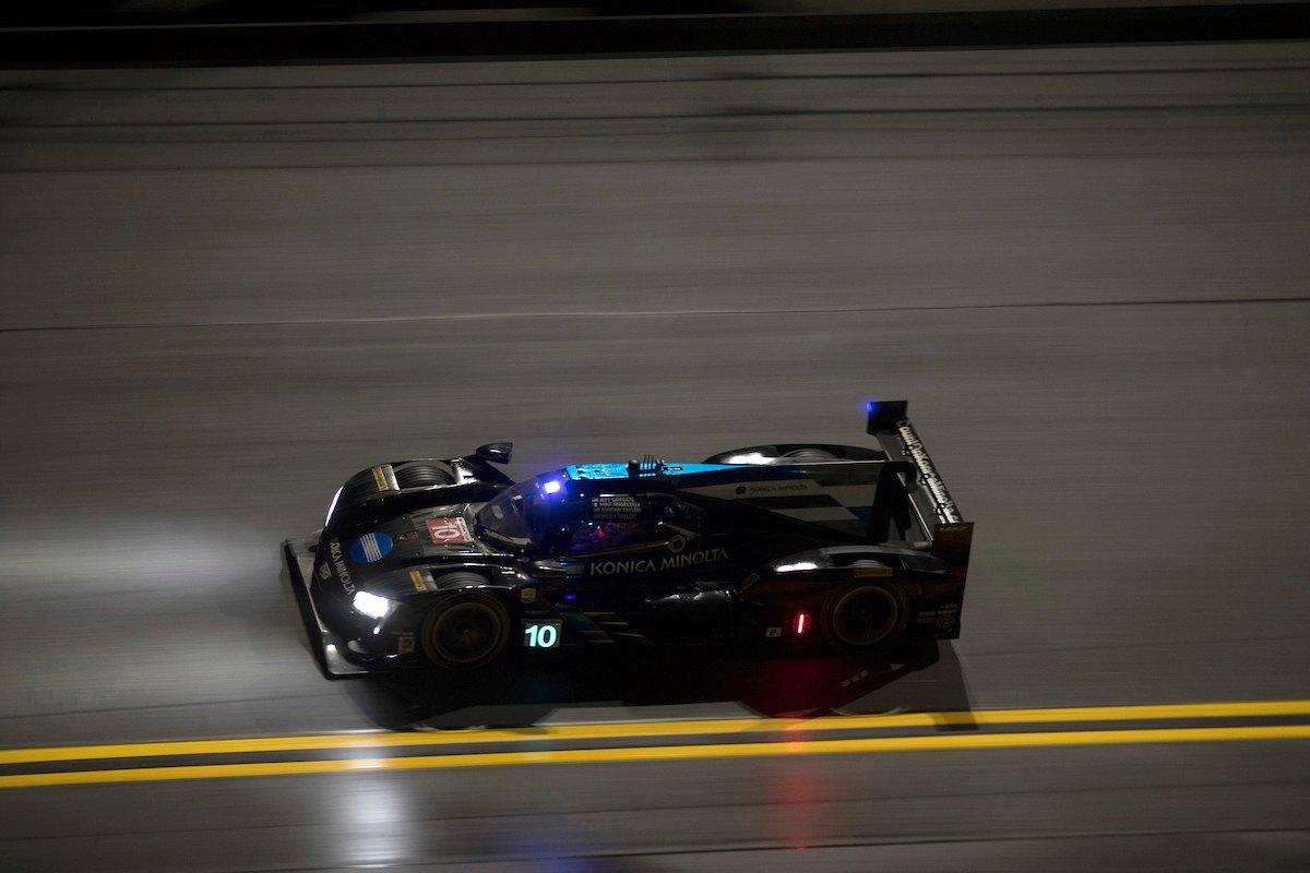 Cadillac Racing; Cadillac DPi-V.R Konica Minolta team at the Rolex 24 at Daytona in Daytona Beach, Florida | Richard Prince/Cadillac
