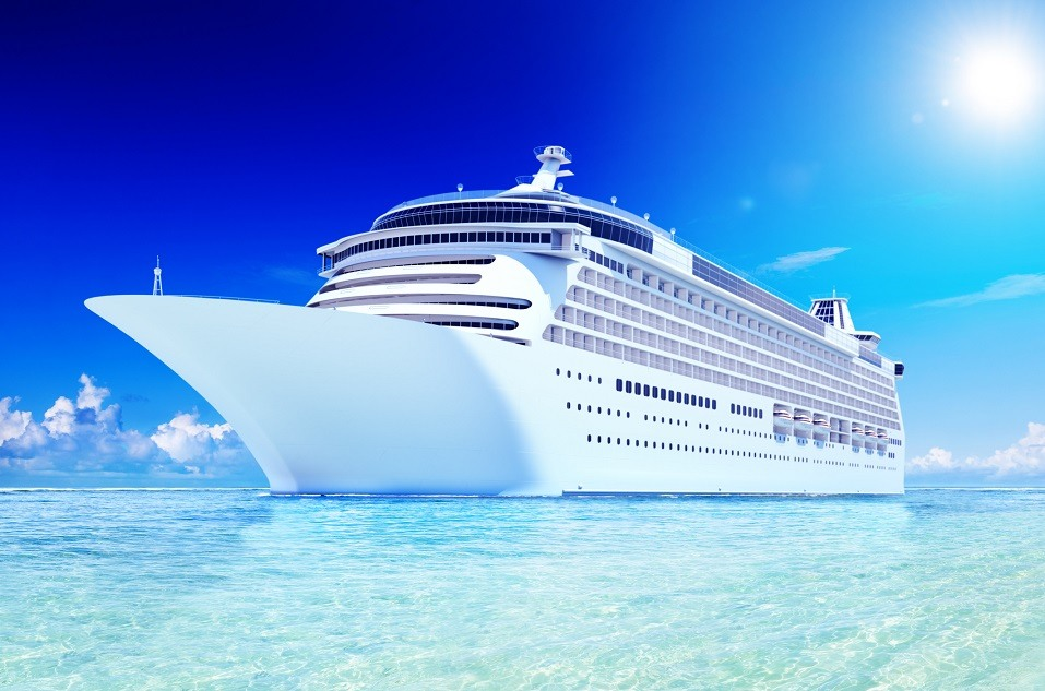 3D Cruise Destination Ocean