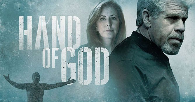Amazon's Hand of God promotion poster
