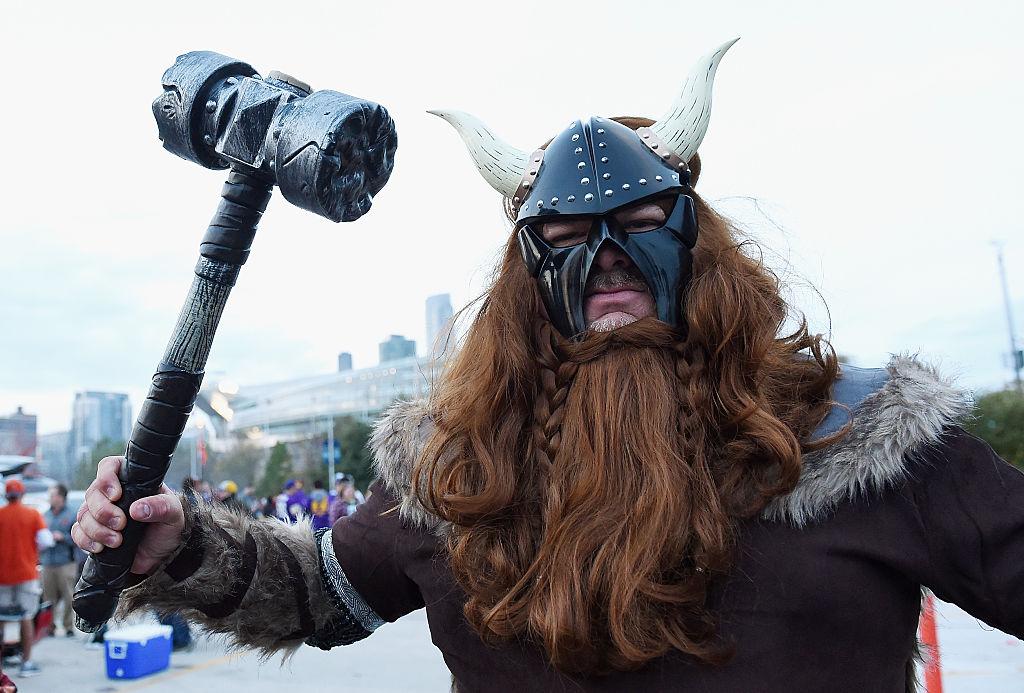 man in costume