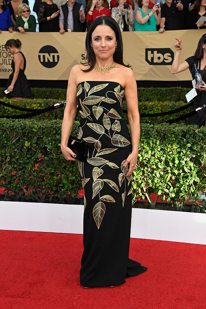 Actor Julia Louis-Dreyfus attends The 23rd Annual Screen Actors Guild Awards
