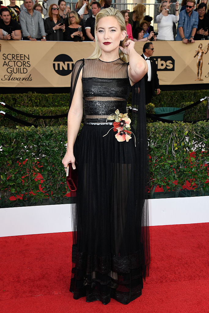 Actor Kate Hudson attends The 23rd Annual Screen Actors Guild Awards