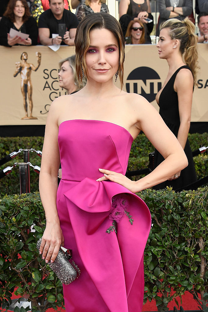 Actor Sophia Bush attends The 23rd Annual Screen Actors Guild Awards
