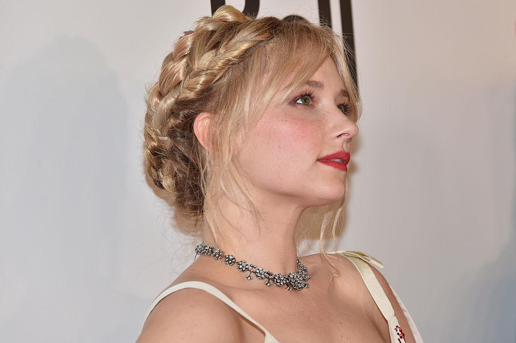 "Actress Haley Bennett attends ""The Magnificent Seven"" premiere"