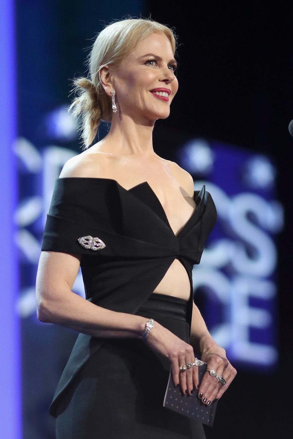 Actress Nicole Kidman speaks onstage during The 22nd Annual Critics' Choice Awards
