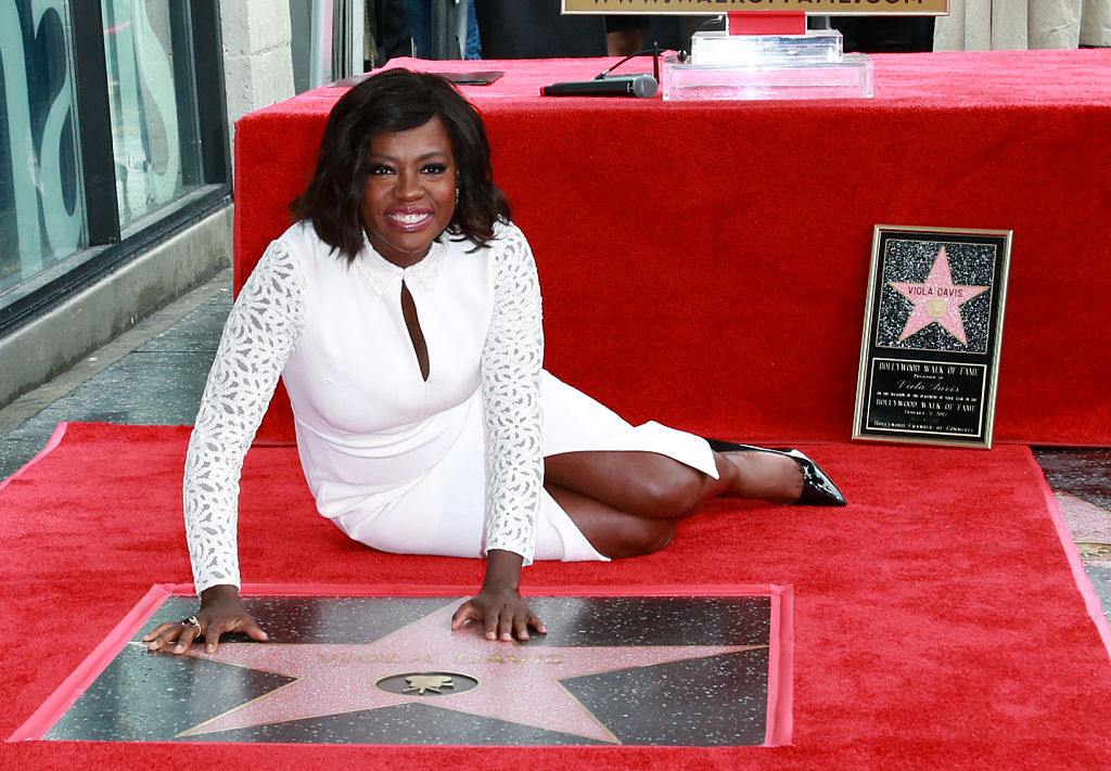 Actress Viola Davis attends the Viola Davis Walk Of Fame Ceremony at Hollywood Walk Of Fame