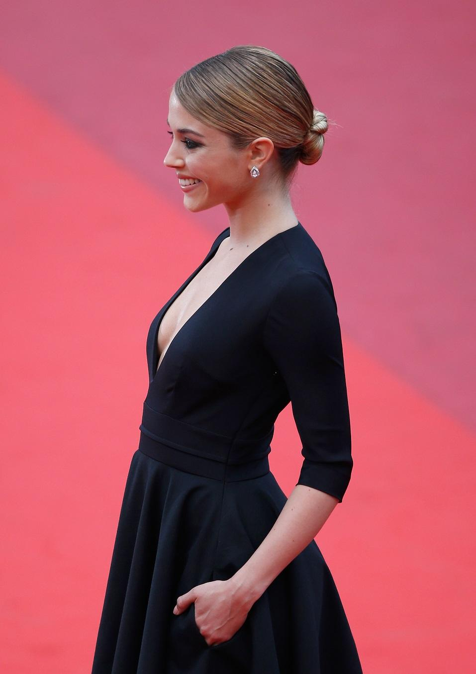 Alice Isaaz attends the closing ceremony of the 69th annual Cannes Film Festival