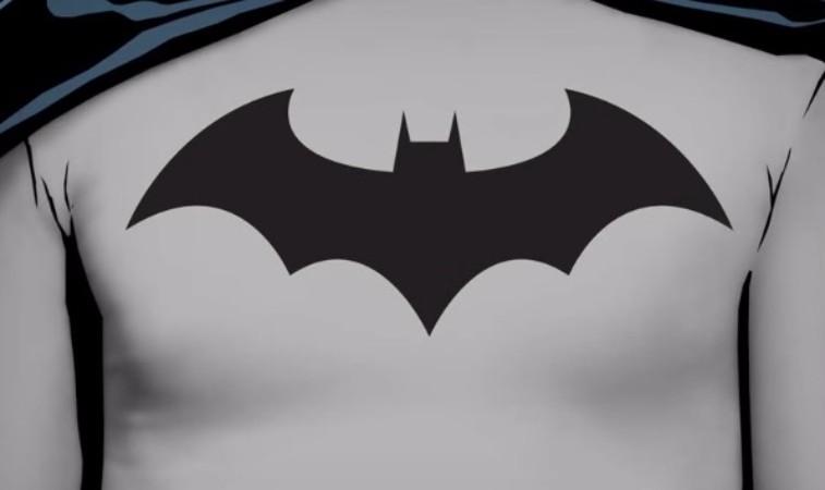 Batman's 2000 comic book logo