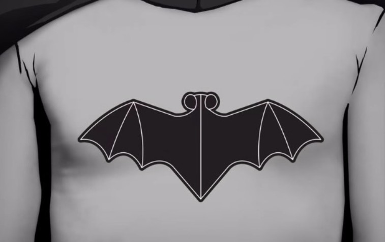 Batman's 1949 on-screen logo