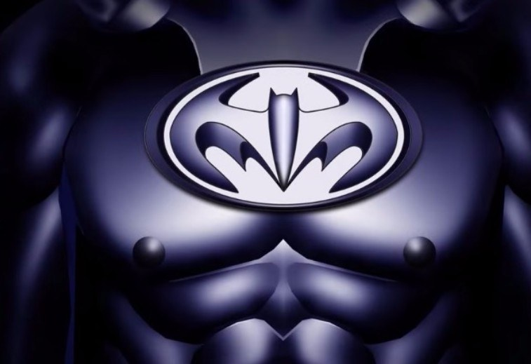 Batman's infamous nipple-suit from 1997