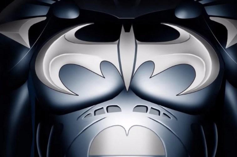 Batman's second 1997 movie logo