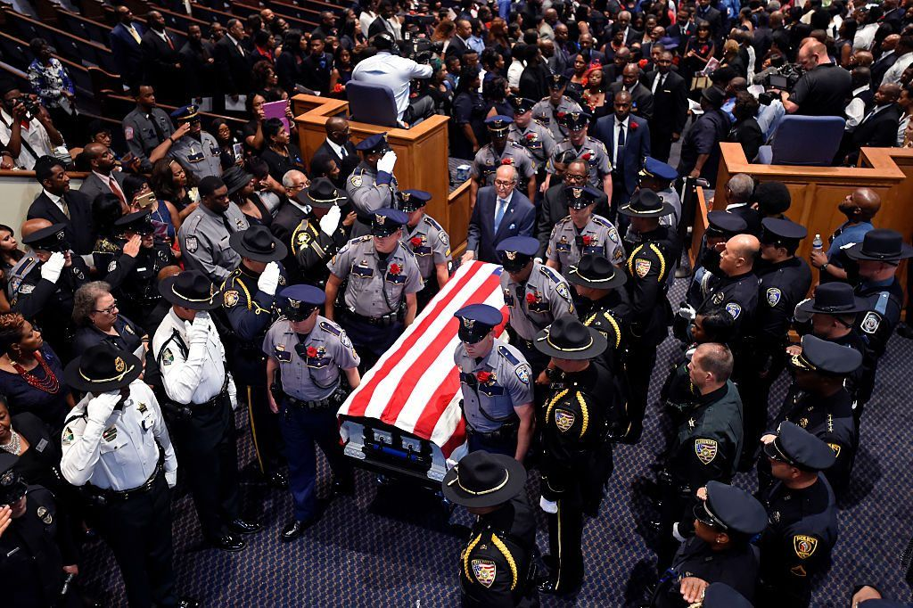 Baton Rouge police funeral