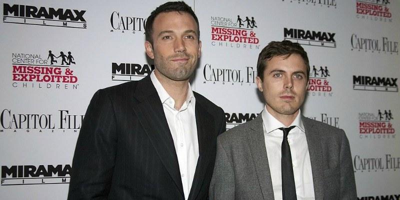 Ben and Casey Affleck
