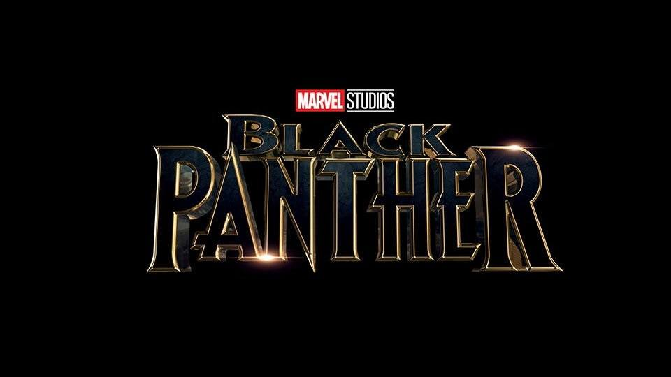 The Black Panther title logo