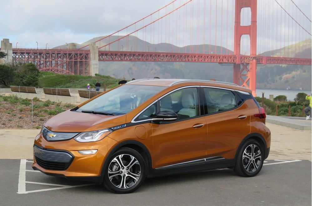 chevrolet bolt ev 10 things we learned driving the first everyman ev. Black Bedroom Furniture Sets. Home Design Ideas
