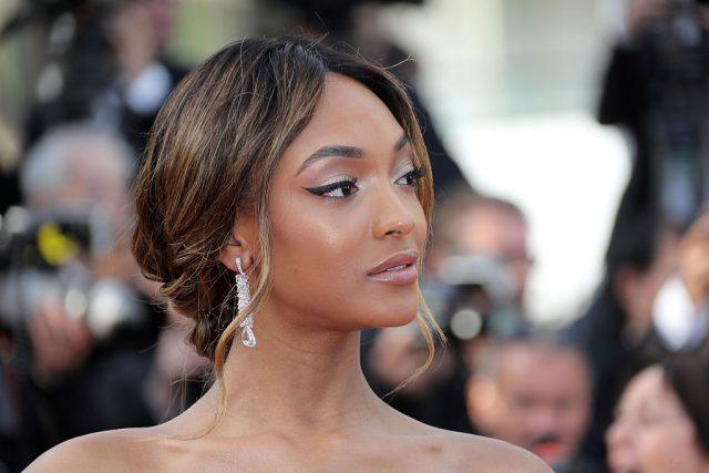 British model Jourdan Dunn poses
