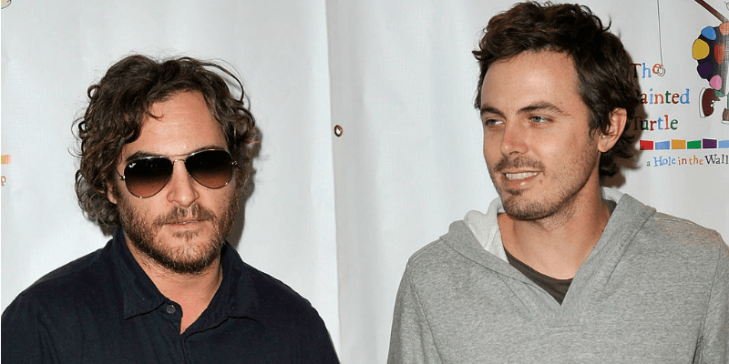 Joaquin and Casey Affleck