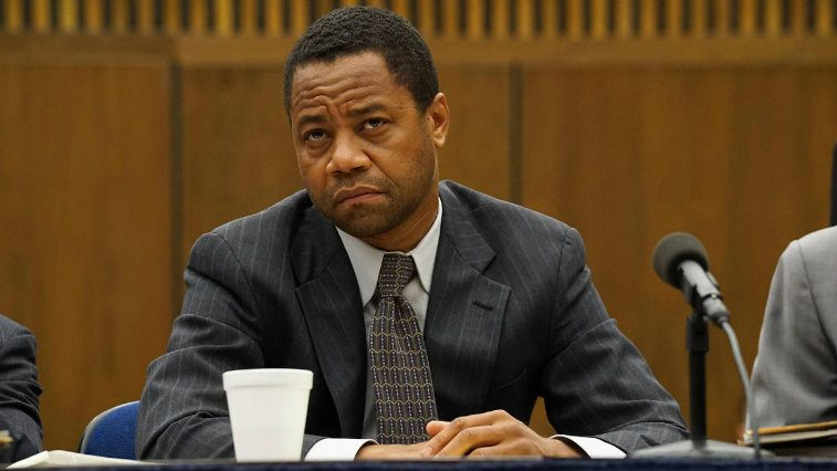 Cuba Gooding Jr. in The People vs. O.J. Simpson: American Crime Story