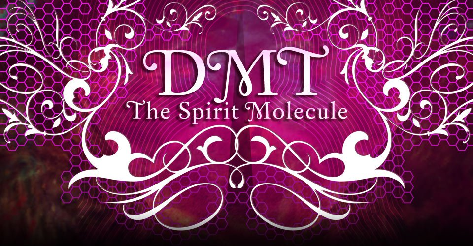 A promotional poster for DMT: The Spirit Molecule