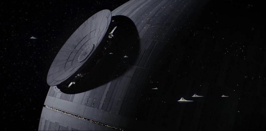 Death Star in Rogue One: A Star Wars Story