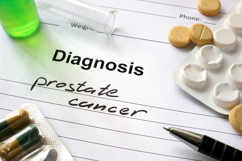 Diagnosis prostate cancer written in the diagnostic form