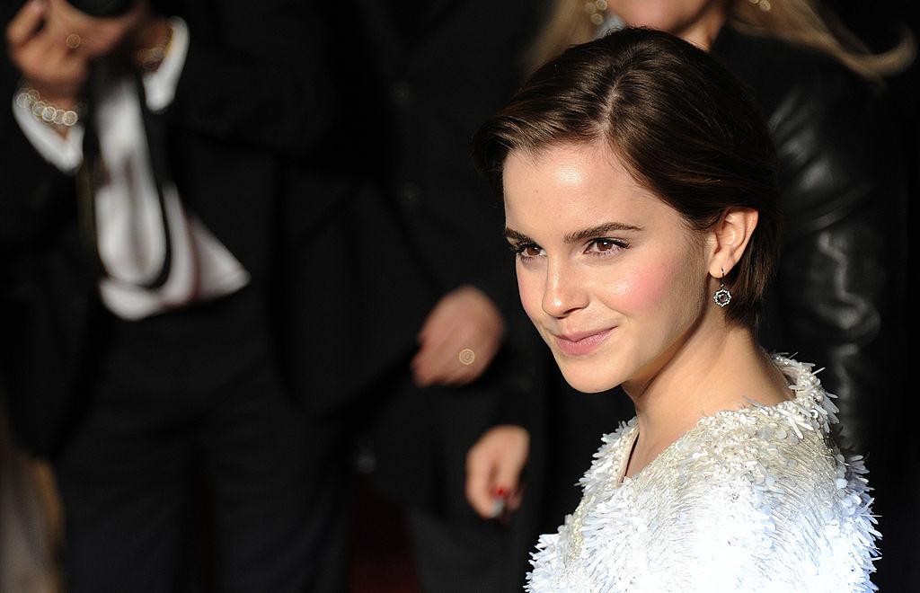 Emma Watson attends the 'My Week With Marilyn' European Premiere