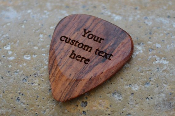 Product photo for Engraved Guitar Pick