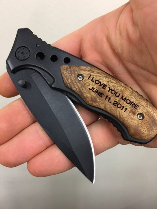 Product photo for Engraved Pocket Knife