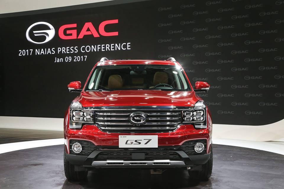 The 2018 GAC GS 7