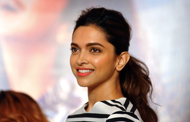 Deepika Padukone, an Indian film actress