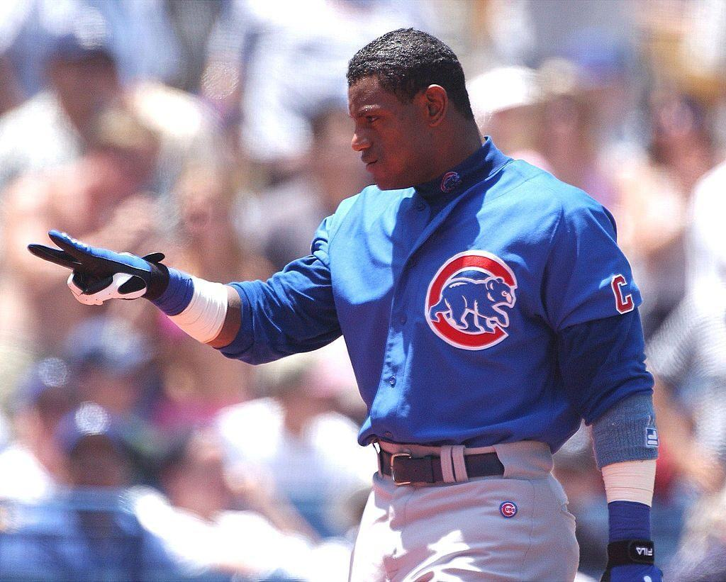 Sammy Sosa hits another home run for the Cubs