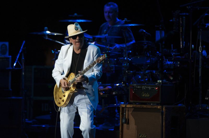 Carlos Santana | Jorge Guerrero/AFP/Getty Images